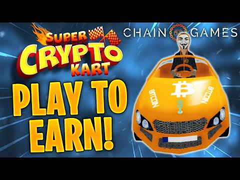 Super crypto Kart  - PLAY TO EARN CRYPTO CAR GAME!