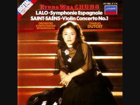 Kyung Wha Chung - Saint Saens Violin Concerto No.1 Mov. 1
