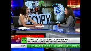Homeland Security spies on the Occupy movement