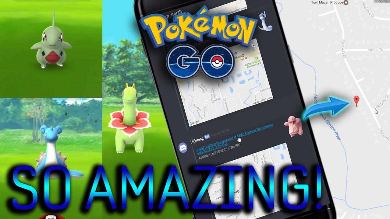 Discord Tracker rare pokemon! this is probably cheating! discord tracker alerts in pokemon  go! pokmeon go gen 2 ep19