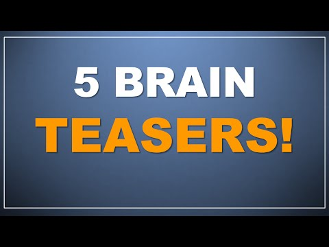 Download Youtube: Quick Brain Teasers! How smart are you? Test your smarts!