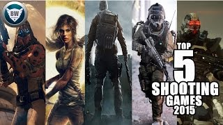 TOP 5 SHOOTING GAMES XBOX ONE/360/PS4/PS3/ 2015 HD