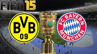 FIFA 15 - FC Bayern München gegen Borussia Dortmund (DFB Pokal FINALE) ◄FCB #58►