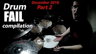 Drum FAIL compilation December 2018 Part 2   RockStar FAIL