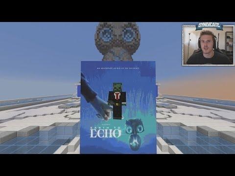 Minecraft earth to echo speed run w syndicate amp captain sparklez