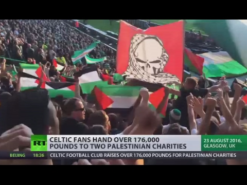 #Match the fine for Palestine: Celtic fans crowdfund £176K to pay UEFA fine