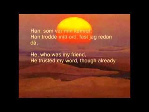 ''Gold turned into sand'' (Peter Jöback, ''Kristina from Duvemåla'')