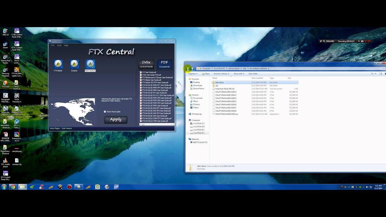 P3d,fsx tips for your scenery library,ftx central and fs cloud