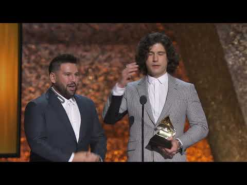 Dan + Shay Win Best Country Duo/Group Performance | 2019 GRAMMYs Acceptance Speech