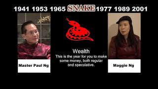 Canadian Chinese, Fengshui Master, Paul Ng, 2020, Zodiac Animal Predictions, Snake
