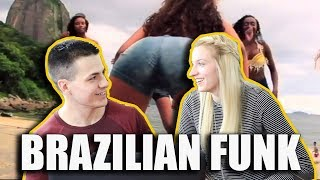 AMERICAN REACTS TO BRAZILIAN FUNK! MC LIVINHO AND MR CATRA - LEGENDADO