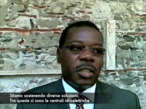 Namburete minister of energy of Mozambique