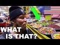 AMERICAN IN INDIA: First Time at Indian Grocery Store! (Indian Food)