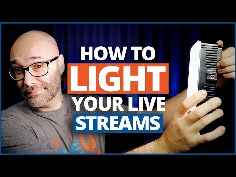 Episode Three: How To Light Your Live Streams