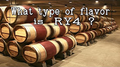 What kind of flavor is RY4?  (Tobacco Eliquid & DIY RY-4 Flavor)