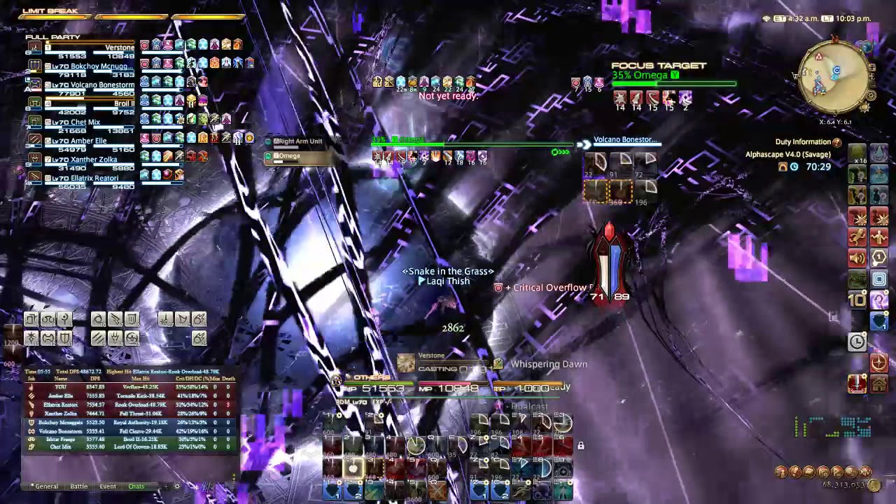 Repeat O12S RDM Weekly? [7971 dps] by Laqi Thish - You2Repeat