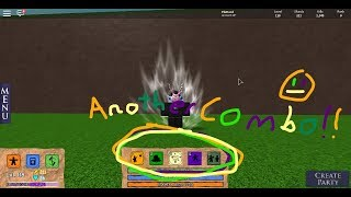Another Combo Game play and I got Gravity. (Elemental Battlegrounds, Roblox)