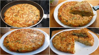 Spanish Omelette Recipe    Easiest Breakfast Recipe Tortilla De Patata