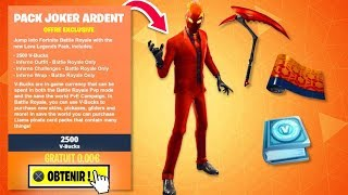 COME THIS NEW STARTER PACK FREE on FORTNITE