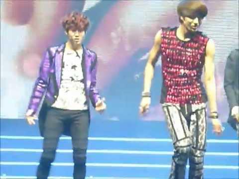 120623 MBC Korean Culture Festival in London - EXO-K - Angel [Central Close Fancam]