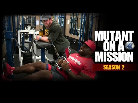 MUTANT ON A MISSION - Diamond Gym, New Jersey W/AKIM WILLIAMS