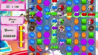 Candy Crush Saga Level 483 Clear all the Jelly!