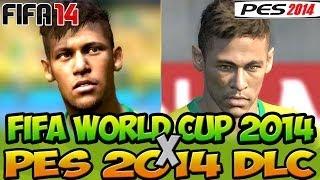 Video FIFA 14 WORLD CUP 2014 vs PES 2014 DLC - REAL vs VIRTUAL - XBOX360 e PS3 CROCODILLOGAMES download MP3, 3GP, MP4, WEBM, AVI, FLV Januari 2018