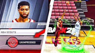 NBA 2K20 Mobile MyCAREER #2 LeMobile Gets Drafted! Worst Combine Experience EVER!