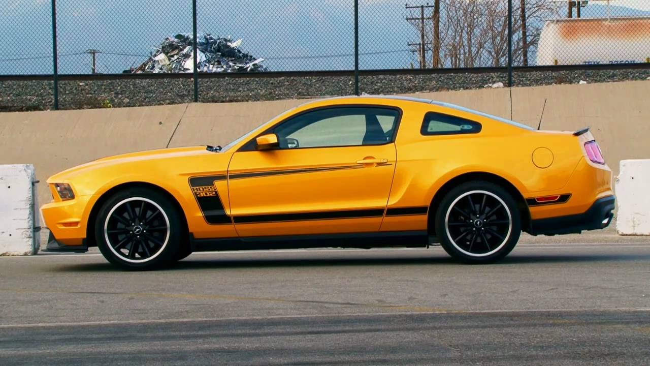 2012 Ford Mustang Boss 302: First Test - YouTube