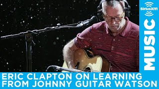 Eric Clapton recalls learning to play blues over standards