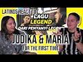 Latinos react to INDONESIAN POWER VOCALS FOR THE FIRST TIME 🇮🇩| JUDIKA x MARIA - Surat Narara 😲