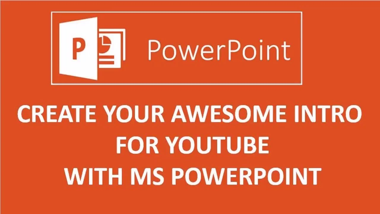 Powerpoint templates tutorial youtube choice image powerpoint how to make awesome youtube intro using powerpoint ms how to make awesome youtube intro using toneelgroepblik Image collections