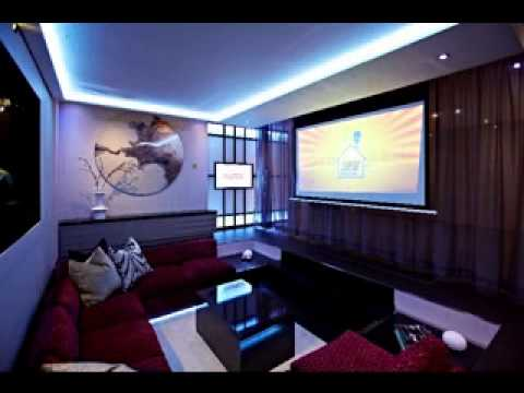 Media Room Furniture Design Decor Ideas Youtube