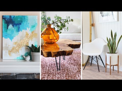 10 DIY Decor Project For White Living Room