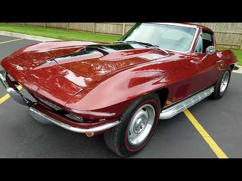 Mid Year 1967 Corvette For Sale, Frame Off Auto Appraisal And Test Drive,  $74,900 810-691-2664