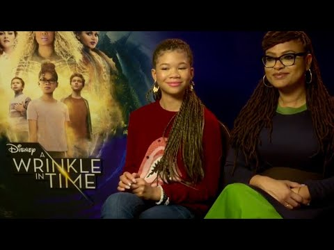 """""""We'd Scare People"""" Ava DuVernay and Storm Reid on A Wrinkle In Time"""