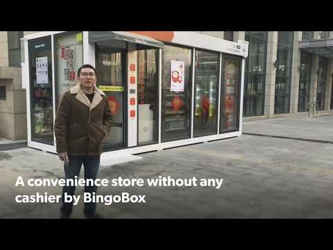 Experiencing BingoBox the Autonomous Convenience Store in Beijing, China