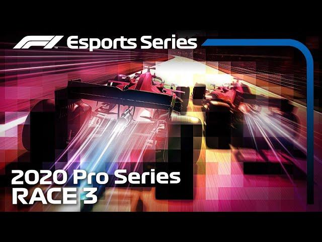 F1 Esports Pro Series 2020: Round 3