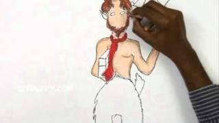 How to Draw Mr Tumnus - Narnia