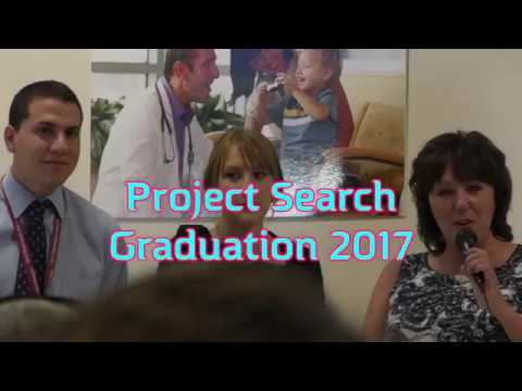Project Search 2017 Graduation Ceremony