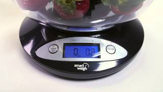 Smart Weigh - Kitchen Food Scale with Bowl