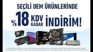Vatan Bilgisayar KDV İndirimi (21-24 Kasım 2019)