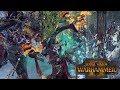 DAD BATTLE: Durthu vs Vlad - Wood Elves vs Vampire Counts // Total War: Warhammer Online Battle