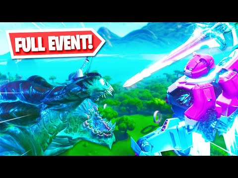 ROBOT vs MONSTER EVENT in Fortnite!