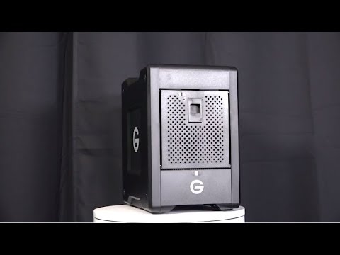 G-Technology G-SPEED 4-Bay Videoguys Product Spotlight