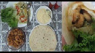 Chicken Shawarma | Chicken Wrap |  Chicken Tortilla Roll recipe by Easy Cooking With Shazia