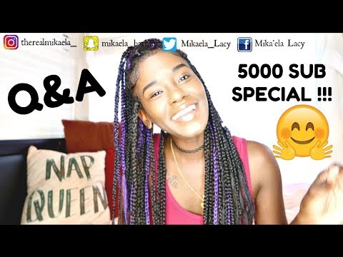AM I SINGLE ??? |Q&A| 5000 SUB SPECIAL!!!! | LACY'S FILES