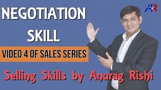 Negotiation Skills in Hindi || Sales Training Motivation || Selling Skills by Anurag Rishi