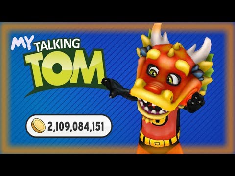 My Talking Tom MOD Unlimited Coins & Diamonds Android Gameplay