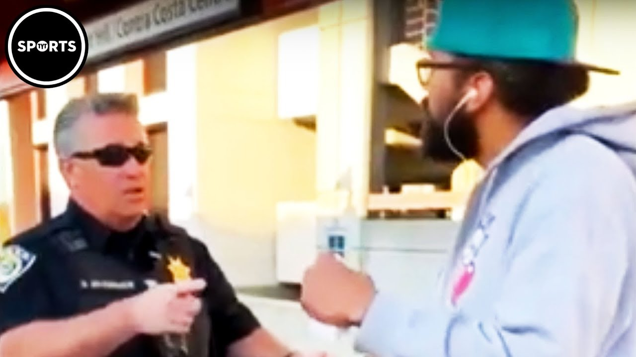 Cop Harasses Black Man For Eating A Sandwich